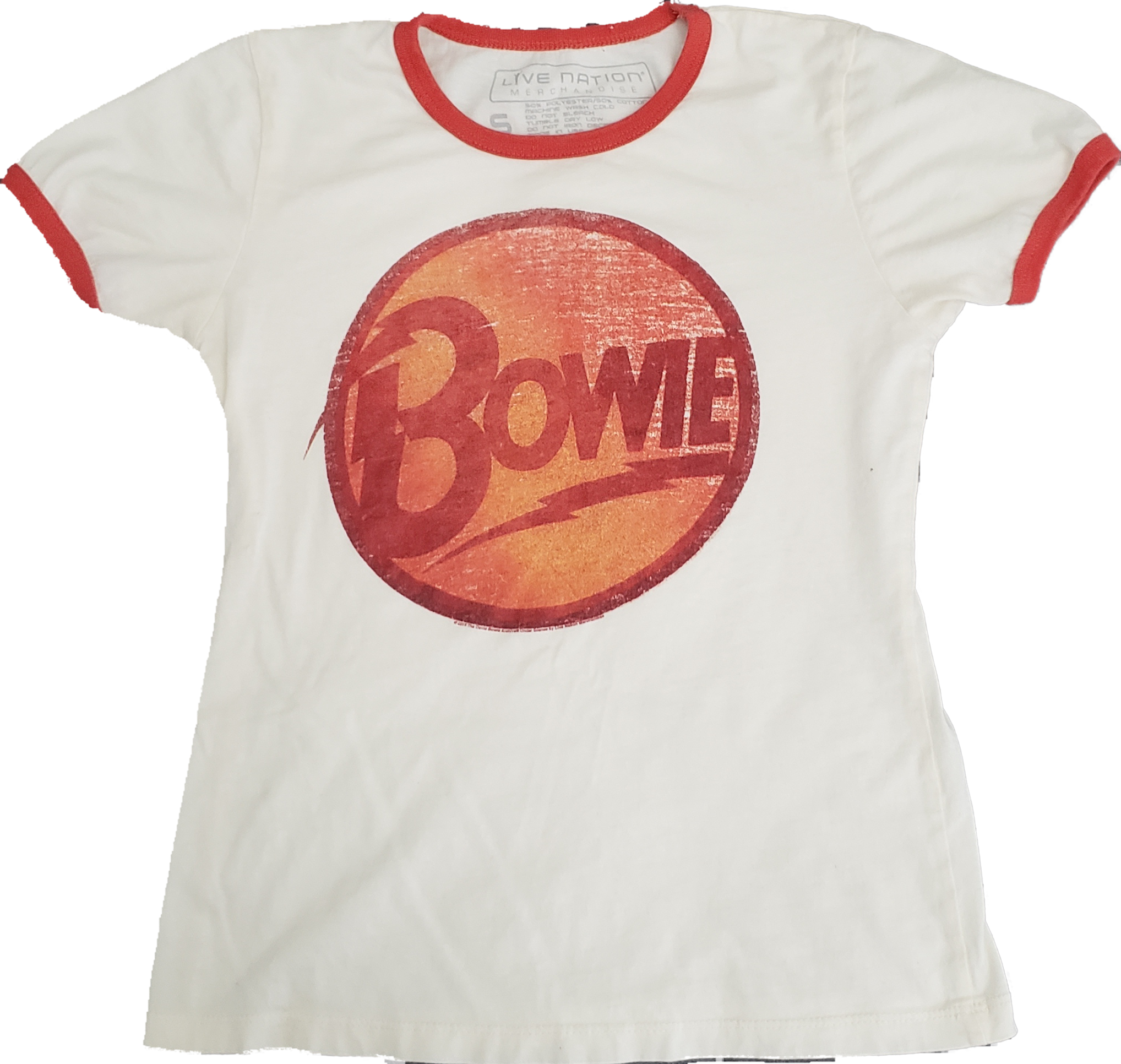 David Bowie Womens Ringer