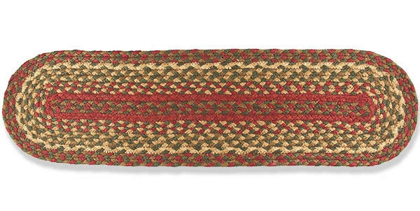 Braided Stair Tread Pip Berry