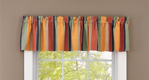 Mango Curtain Striped Valance