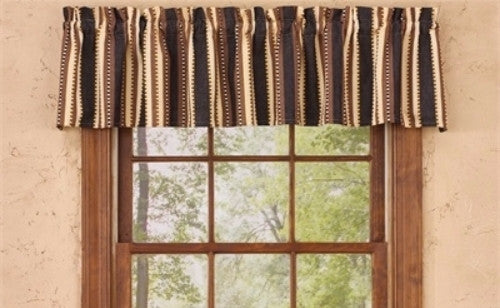 Lodge Curtain Valance Canyon