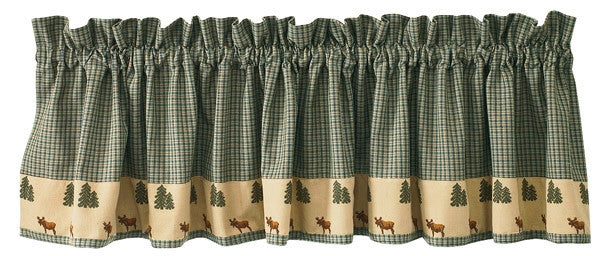 Moose Pine Window Valance