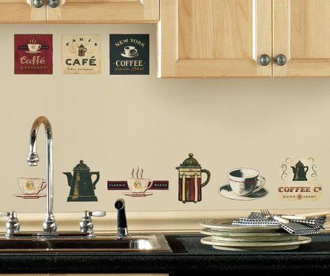 Cafe Coffee Wall Stickers