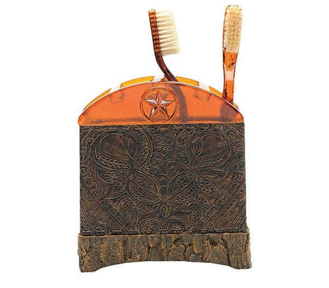 Western Cowboy Toothbrush Holder