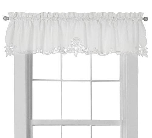 Battenburg Lace Window Valance