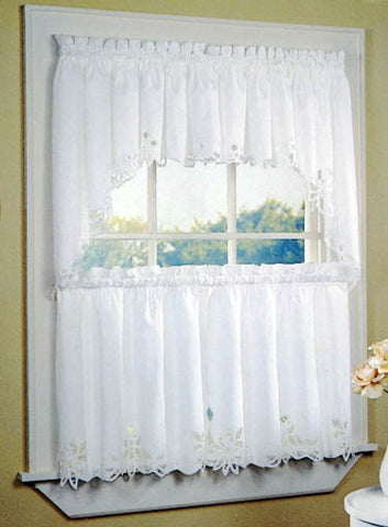 Battenburg Lace Window Curtains