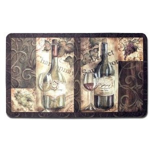 Wine Cushion Comfort Rug