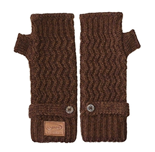 Kyber Outer Wear Texting Gloves Brown