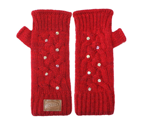 Kyber Outer Wear Texting Gloves Red