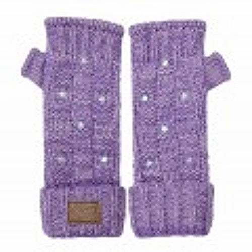 Kyber Outer Wear Texting Gloves Purple