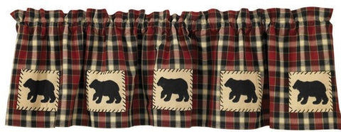 Bear Curtain Valance