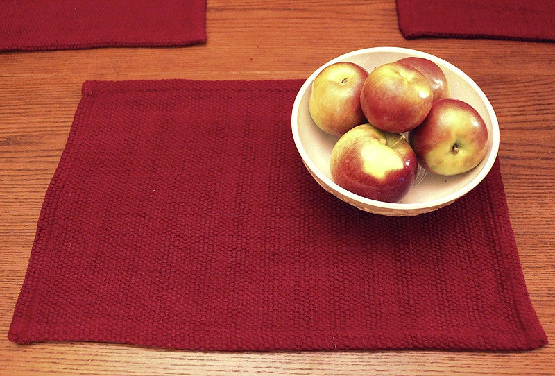 4 Wine Placemats dining set