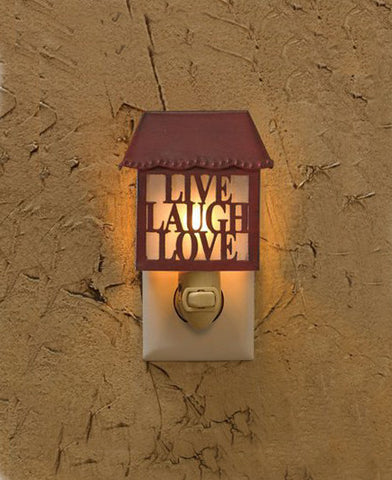 Live Love Laugh Night Light