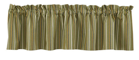 Country Curtain Valance Grassland