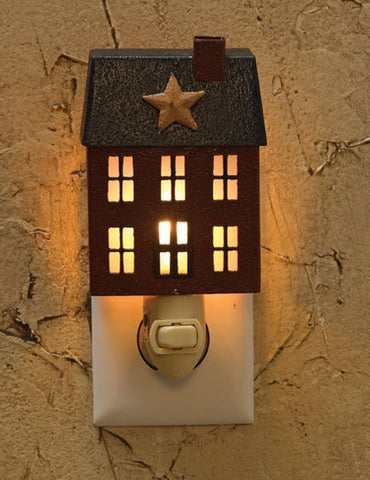 Primitive House Night Light