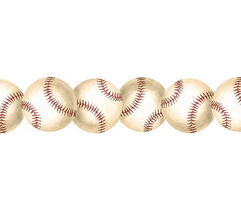 Baseball Mini Wallpaper Border BT2888B