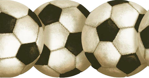 Soccer Ball Wallpaper Border BT2900B
