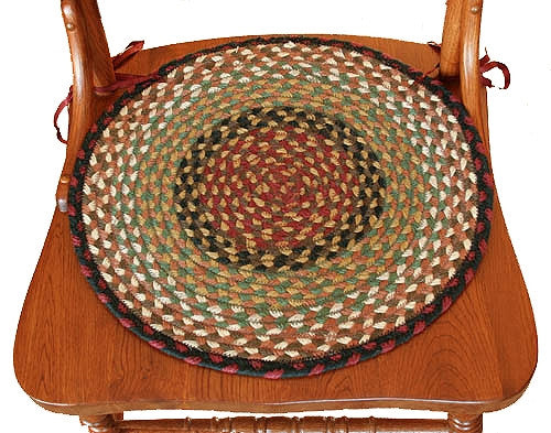 Braided Chair Pads Berry Basket