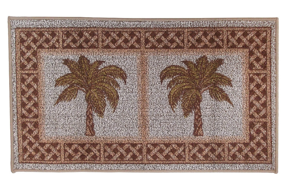 Palm Tree Accent Rug Kitchen Mat
