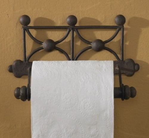 Chelsea Cast Iron Toilet Paper Holder