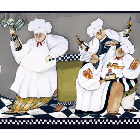 Fat Chef Wallpaper Border AM8848BD