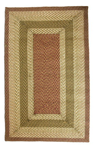Apple Pie Braided Rug C-24