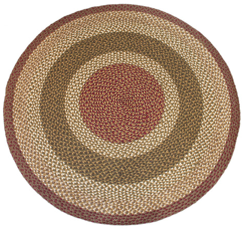 Apple Pie Round Rug