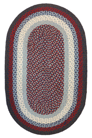 Braided Country Rug Patriot