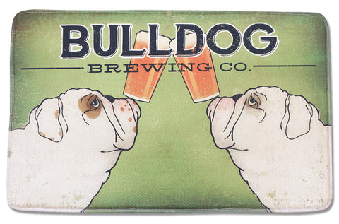 Bulldog Brewing Memory Foam Rug