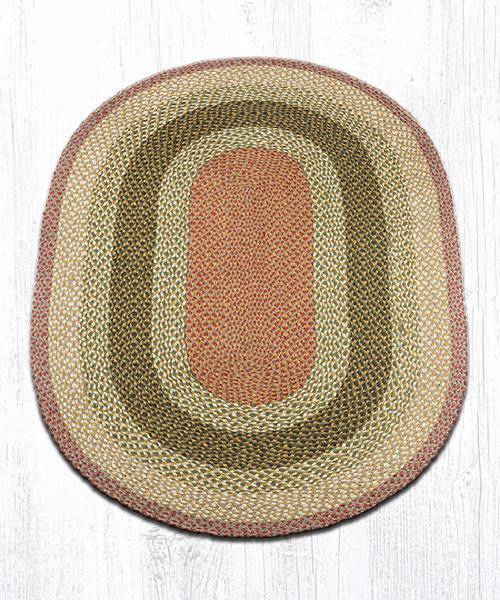 C-24 braided oval rug
