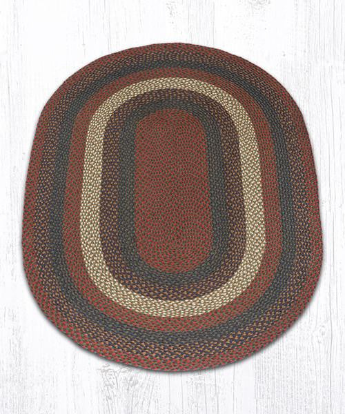 Country House Braided Area Rug