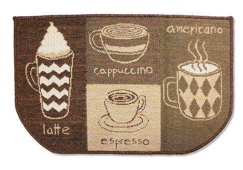 Coffee Hearth Rug
