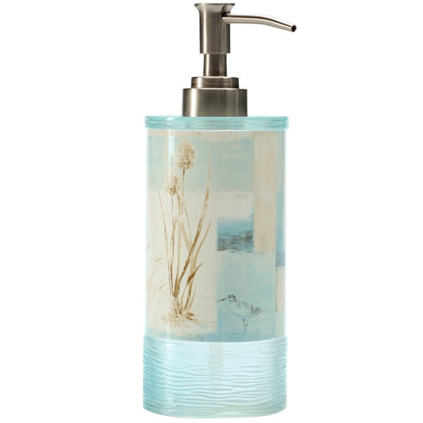 blue waters soap pump