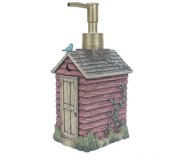 outhouses lotion soap pump