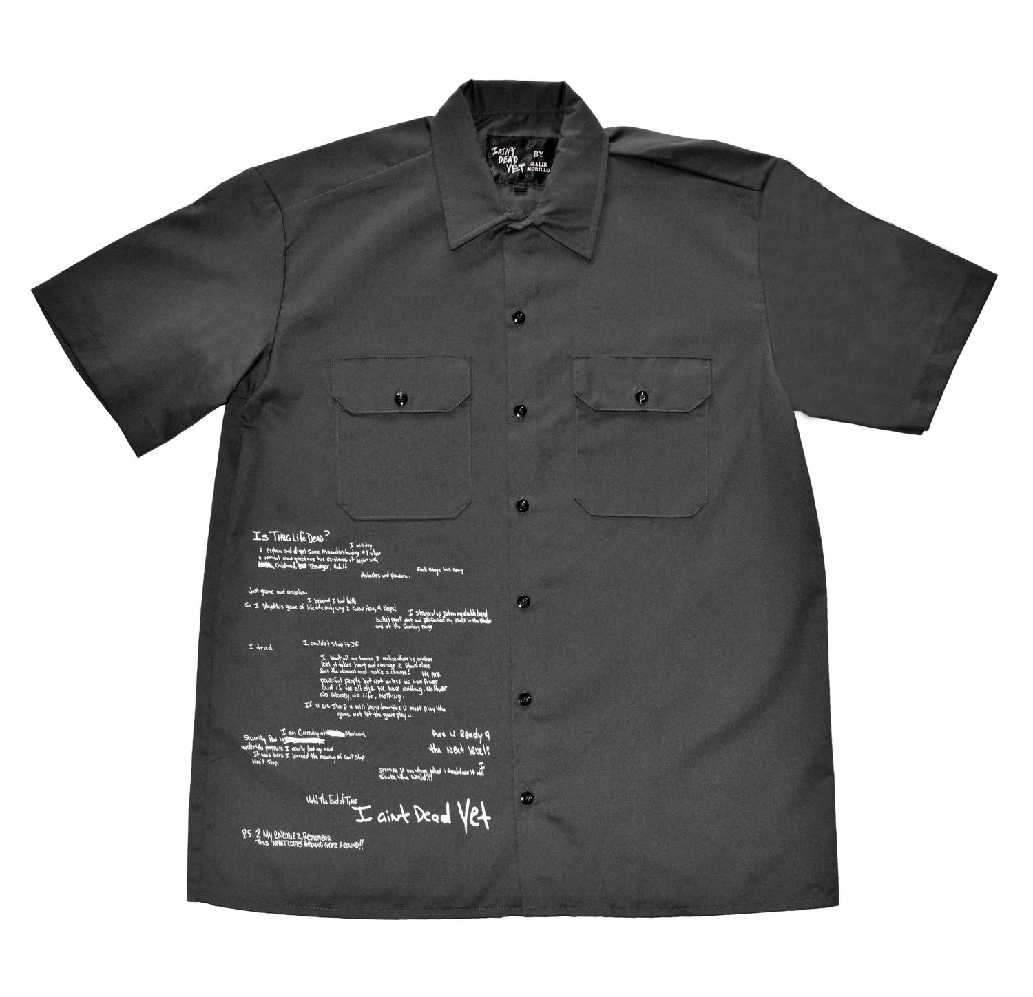 CCounty Jail Work Shirt