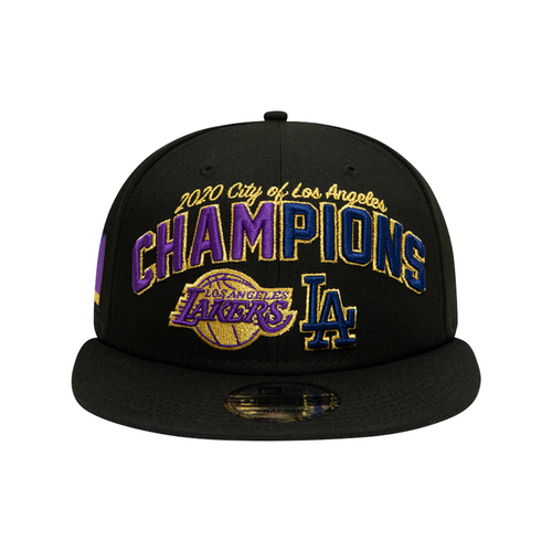 City of Champions 2020 Snapback - Black - New Era