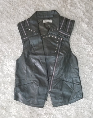 Freedom Faux Leather Vest