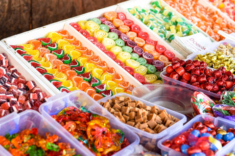 Candy junk food