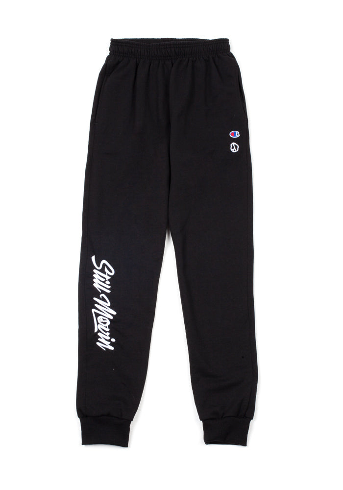 Still Movin Champion Joggers - Black