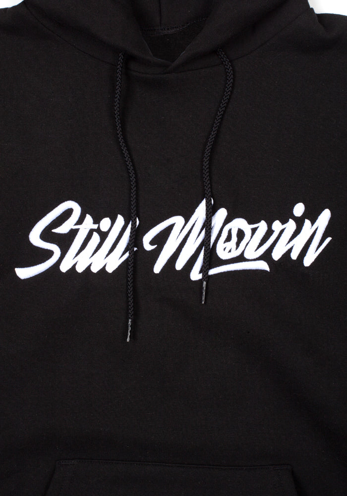 Still Movin Champion Hoodie - Black