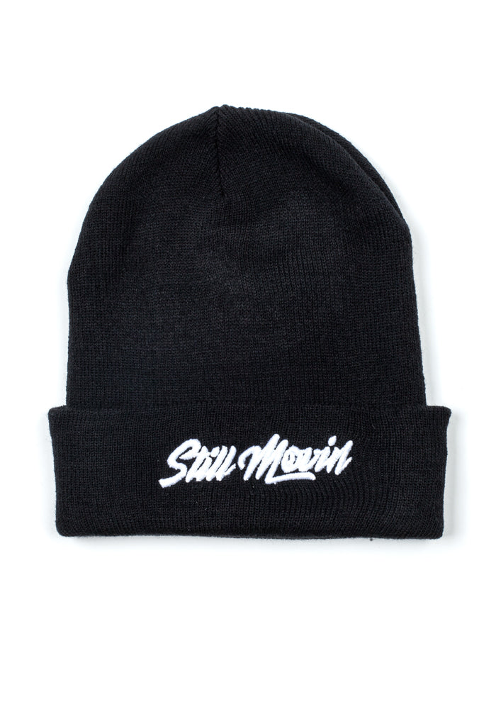 Still Movin Beanie - Black