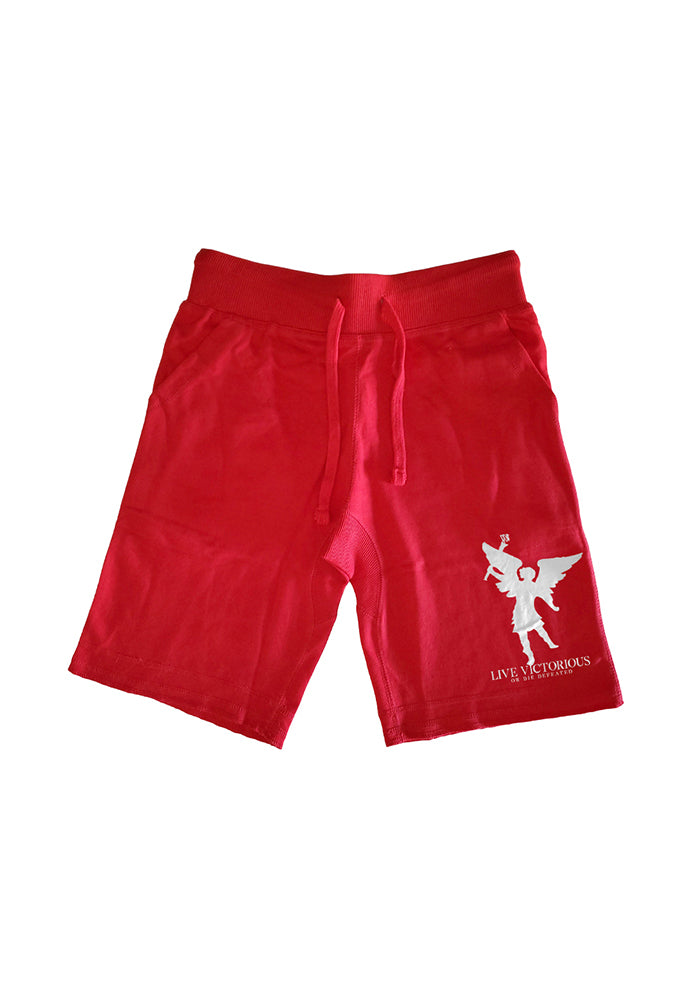 Angel of Victory Shorts - Red