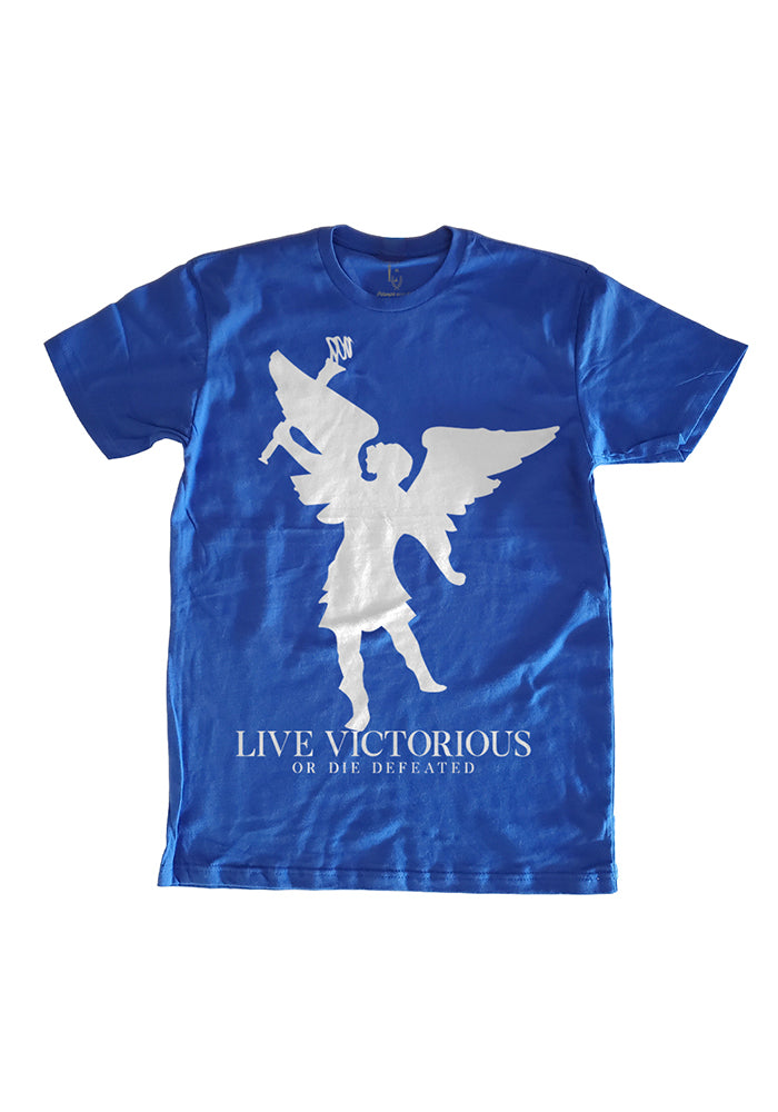 Angel of Victory T-Shirt - Blue
