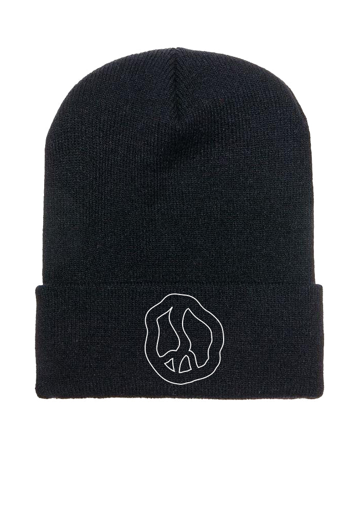 Still Movin Peace Beanie - Black