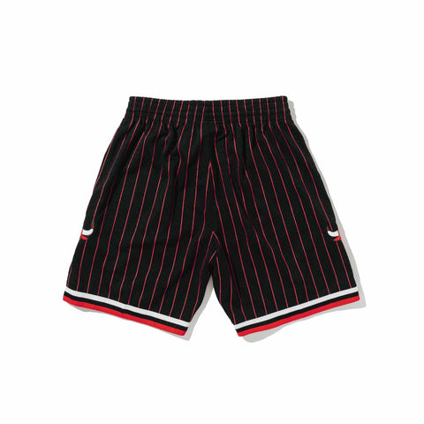 Chicago Bulls Striped Swingman Shorts