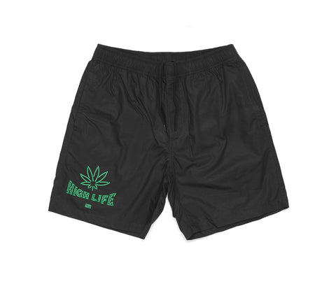 High Life Shorts - Black