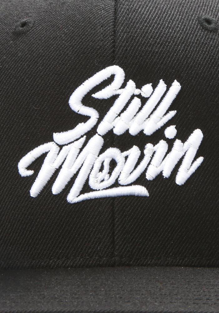 Still Movin Snapback - Black