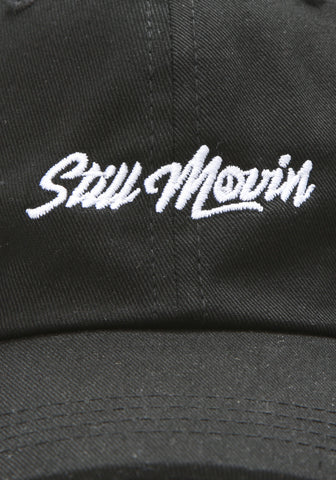 Still Movin Dad Hat - Black