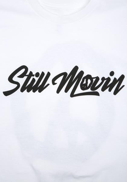 Still Movin Straight Logo T-Shirt - White