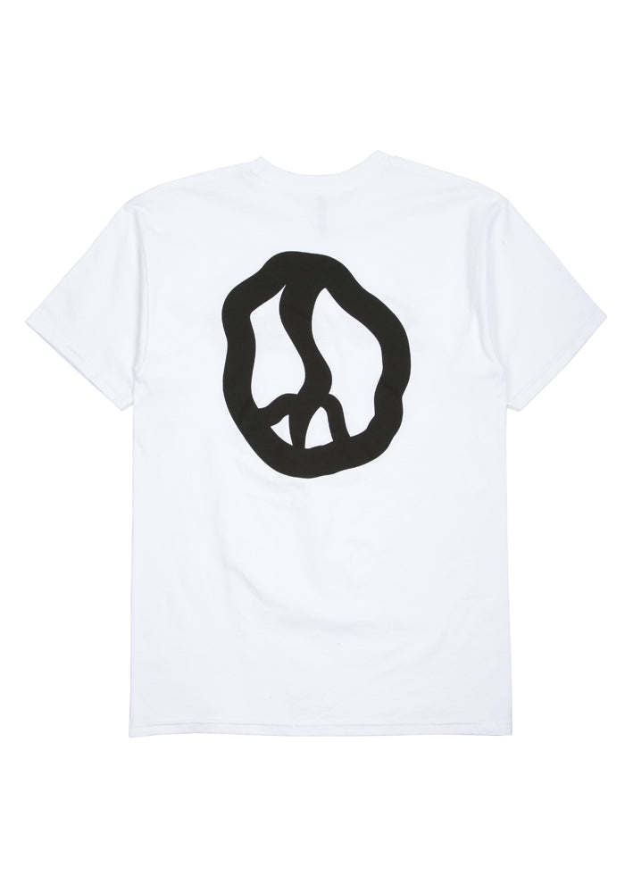 Still Movin Straight Logo Tee - White
