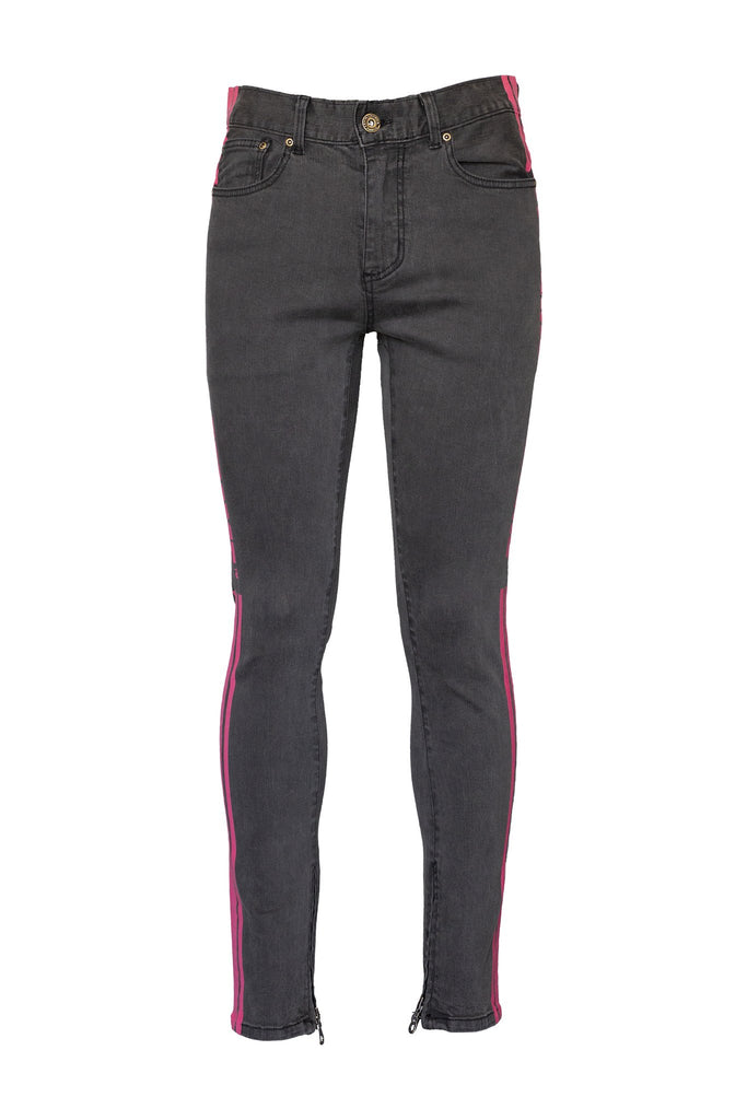 Trademark Denim - Black/Hot Pink